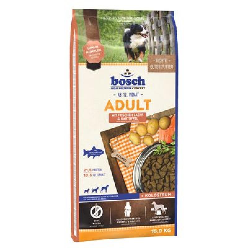 Bosch Adult Fish & Potato Корм для взрослых собак с Рыбой и Картофелем