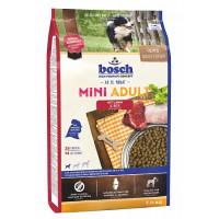 Bosch Adult Mini Lamb&Rice Корм для взрослых собак маленьких пород, Ягненок с Рисом
