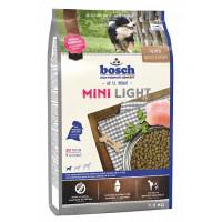 Bosch Mini Light Корм для взрослых собак маленьких пород, Птица со Спельтой