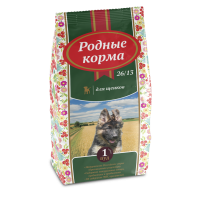 РОДНЫЕ КОРМА сухой корм для щенков 26/13 1 Пуд (16,38 кг)