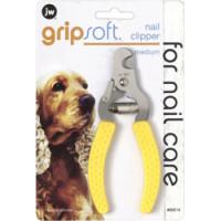 J.W. Когтерез с ограничителем, для собак, средний Grip Soft Medium Nail Clipper