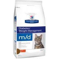 Hills Feline M|D Лечебный корм для кошек,лечение сахарного диабета,ожирения