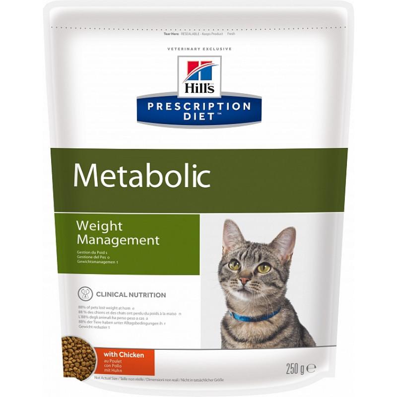 Hills Metabolic Сухой корм для кошек для коррекции веса