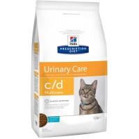 Hills Feline C|D Лечебный корм для кошек, профилактика МКБ рыба