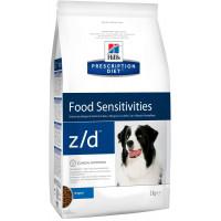 Hills Canine Z D Ultra Лечение острой пищевой аллергии