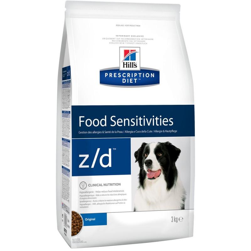 Hills Canine Z|D Ultra Лечение острой пищевой аллергии