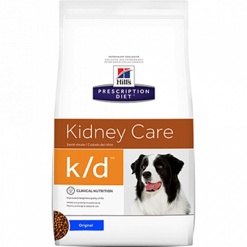 Hills Canine K|D Лечебный корм для собак с заболеваниями почек