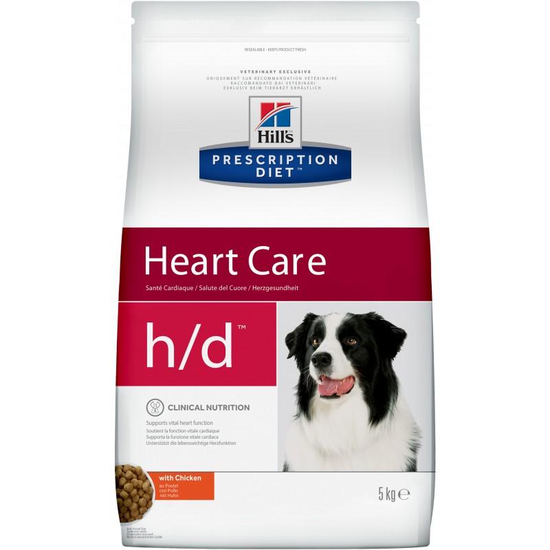 Hills Canine H|D Лечебный корм для собак с заболеваниями сердца
