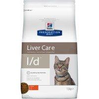 Hills Feline L|D Лечебный корм для кошек, лечение заболеваний печени 1,5 кг