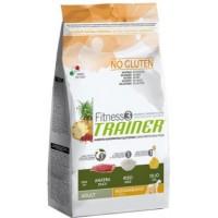 Trainer Fitness3 No Gluten Medium/Maxi  Сухой корм без глютена д/взрослых собак средних и крупных пород с уткой и рисом 12,5 кг