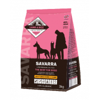 SAVARRA Adult Dog Large Breed Сухой корм д/собак крупных пород Ягненок/рис