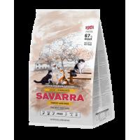 SAVARRA  Light Cat Сухой корм для/кошек с избыточным весом и стерилизованных Индейка/рис
