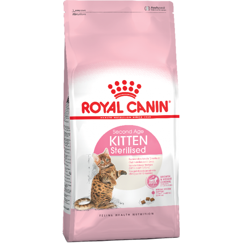 Royal Canin Кitten Sterilised для стерилизованных д/котят до 12 мес