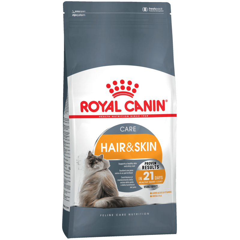 Royal Canin Hair and Skin д/кошек с чувствительной кожей