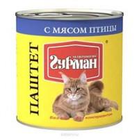 Четвероногий Гурман кон.д/кошек паштет с Курицей 240г