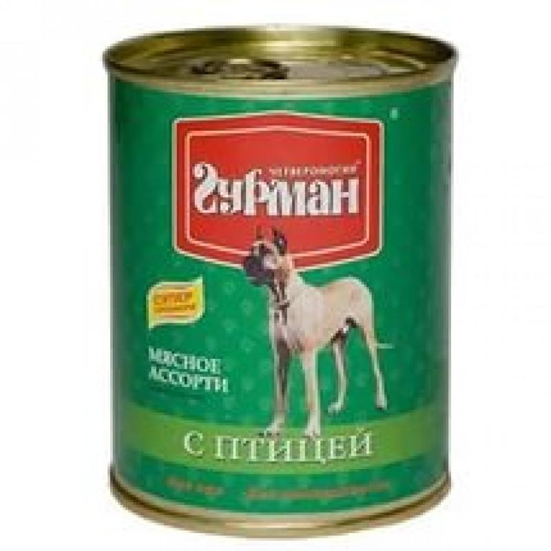 Четвероногий ГУРМАН кон.д/соб.Мясное ассорти с Курицей