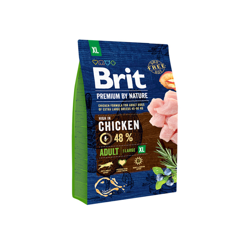 Brit Premium by Nature Adult XL д/взрослых собак гигантских пород