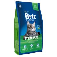 Brit Premium Cat Sterilised Сухой корм для стерилизованных кошек и кастрированных котов с курицей