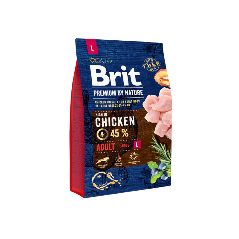Brit Premium by Nature Adult L д/взрослых собак крупных пород