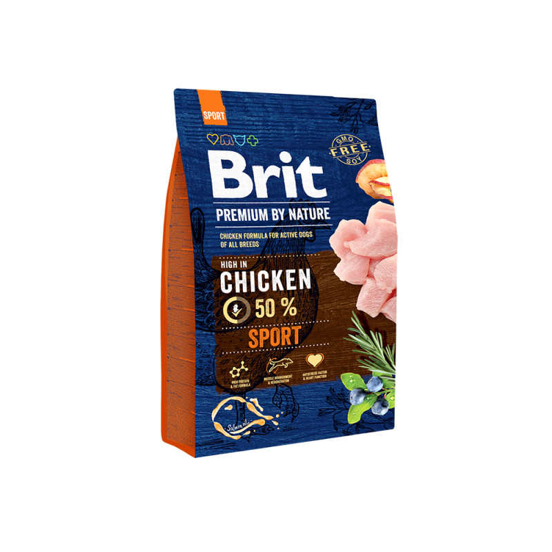Brit Premium By Nature Sport д/активных собак Всех пород