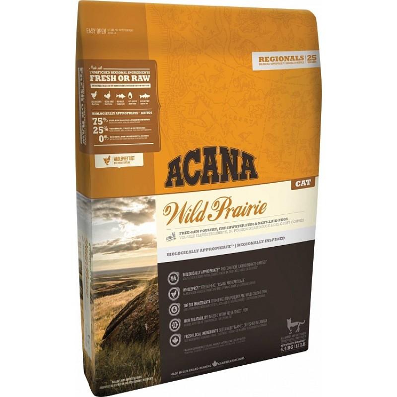Акана Regionals Wild Prairie Cat корм беззерновой д/кошек Курица