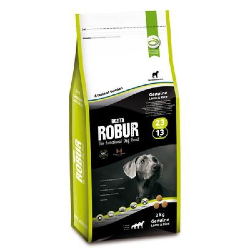 BOZITA ROBUR 23/13 сух.корм д/собак с мясом Ягненка 100%