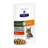 Hills Feline Metabolic + Urinary Паучи для кошек для коррекции веса + урология