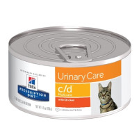 Hills Feline C|D Консервы для кошек, профилактика МКБ