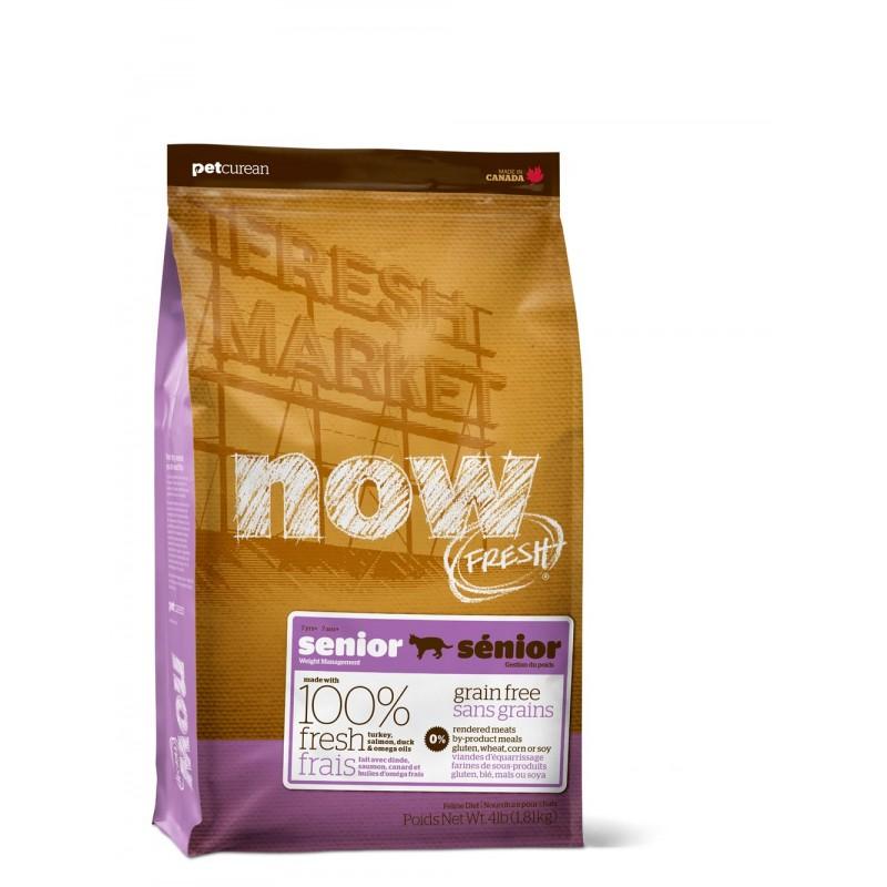 NOW FRESH  Контроль веса - Беззерновой для Кошек с Индейкой, Уткой и овощами (Fresh Grain Free Senior Cat Recipe)