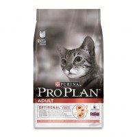 Pro Plan Adult Cat Salmon Корм сухой для кошек, с лососем и рисом  10кг