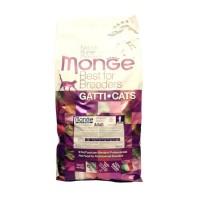 Monge Cat корм для взрослых кошек 10кг