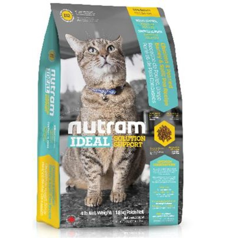 "Nutram Ideal Solution Support Weight Control Cat Food корм сух. д/кошек ""контроль веса"""