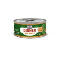 SOLID NATURA Dinner Консервированный корм д/кошек Индейка