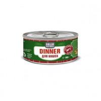 SOLID NATURA Dinner Консервированный корм д/кошек Печень