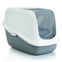Nestor Туалет-домик д/кошек серый 56*39*39см РАЗНЫЕ ЦВЕТА