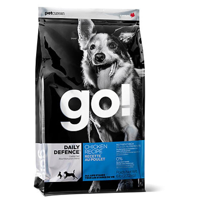 GO!™ DAILY DEFENCE Для Щенков и Собак с Цельной Курицей, фруктами и овощами
