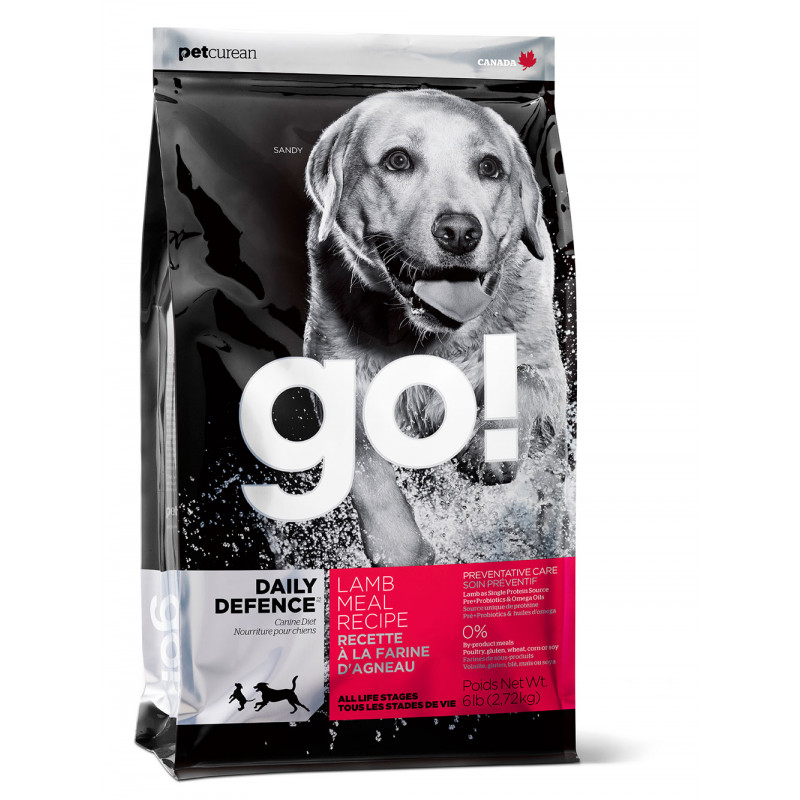 GO ™ Daily Defence Для Щенков и Собак со свежим Ягненком (Daily Defence Lamb Dog Recipe)