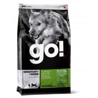 GO™ SENSITIVITY + SHINE™ Беззерновой для Щенков и Собак с Индейкой для чувств. пищеварения
