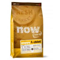 NOW FRESH™ Беззерновой для Щенков с Индейкой, Уткой и овощами (Fresh Puppy Recipe Grain Free)