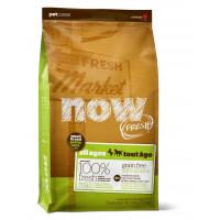 NOW FRESH™ Беззерновой для Малых пород Всех возрастов с Индейкой, Уткой и овощами (Fresh Small Breed Recipe Grain Free)