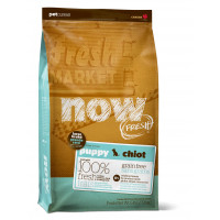 NOW FRESH™ Беззерновой для Щенков Крупных пород с Индейкой, Уткой и овощами (Fresh Puppy Large Breed Recipe Grain Free)