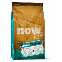 NOW FRESH™ Контроль веса - беззерновой корм для Собак Крупных пород с Индейкой, Уткой и овощами (Fresh Senior Large Breed Recipe Grain Free)