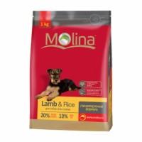 MOLINA Adult Lamb & Rice All Breed Полнорационный гипоаллергенный корм для всех пород