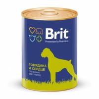 Brit Beef Heart Консервы для собак с говядиной и сердцем