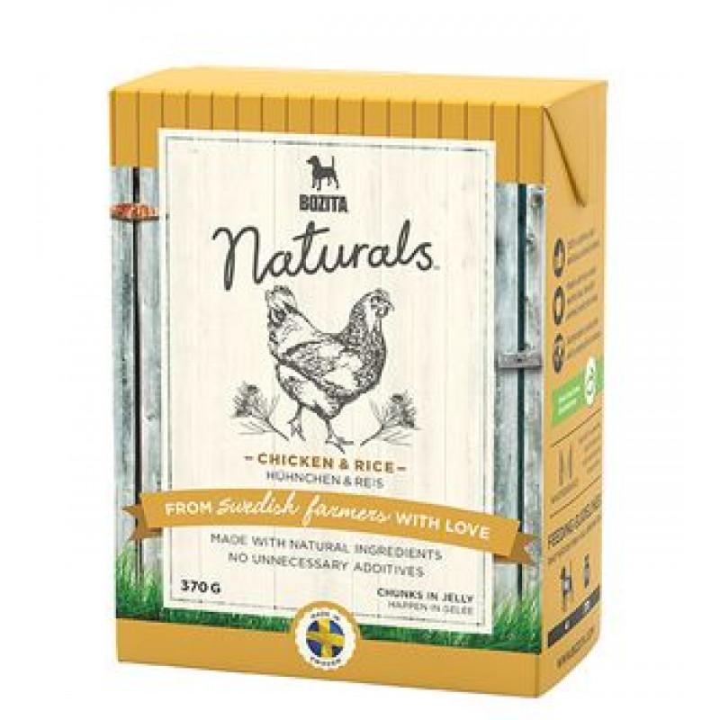 Bozita Naturals Chicken & Rice Консервы для собак кусочки в желе с Курицей и рисом