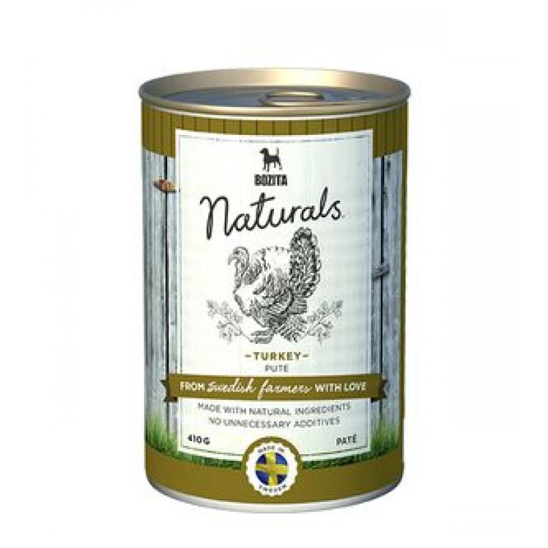 Bozita Naturals Chicken & Lamb Мясной паштет для собак с индейкой