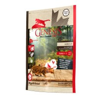 Genesis My Wild Forest Adult для взрослых кошек с уткой, перепелкой и курицей