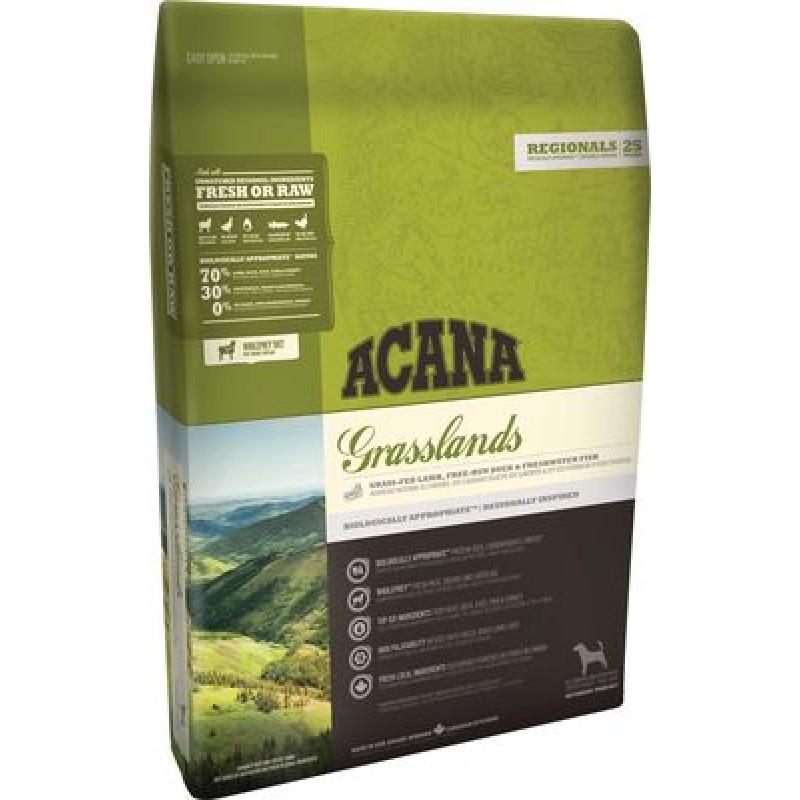 Acana Grasslands Dog Беззерновой корм для собак всех пород и возрастов с ягненком