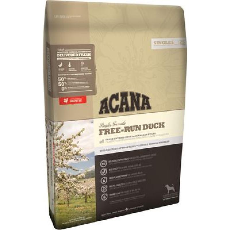 Acana  Free-Run DuckКорм для собак всех пород и возрастов (Утка, Груша)