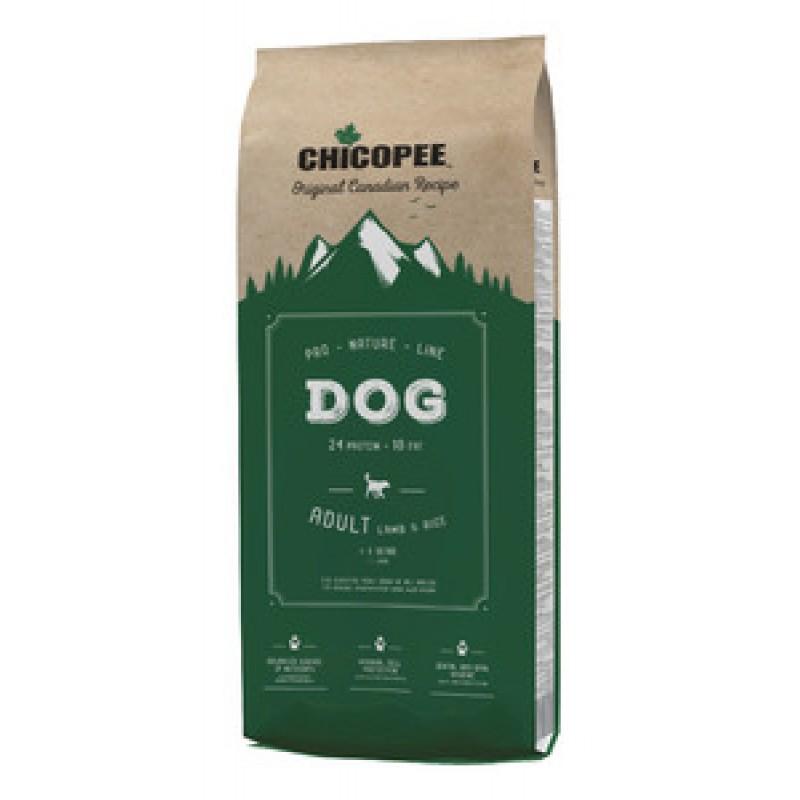 Chicopee PNL для взрослых собак всех пород с ягненком и рисом 20кг